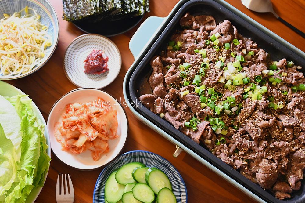 韓式燒烤牛肉
